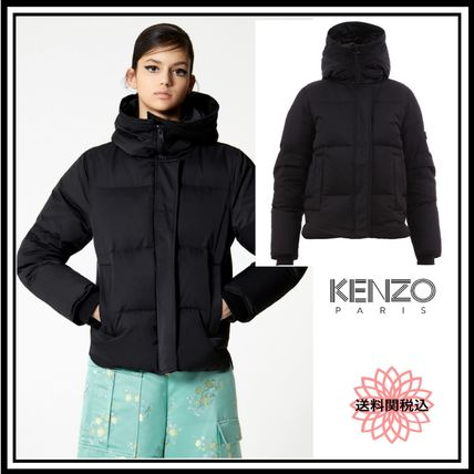 KENZO ダウンジャケット・コート 完売必須★送料★関税込★KENZO★Hooded quilted down jacket