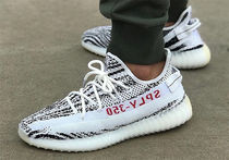 YEEZY(イージー) スニーカー YEEZY BOOST 350 V2 White/Core Black/Red [Zebra/ゼブラ]