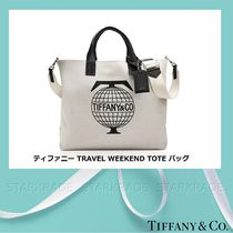 [Tiffany] 2018 最新作 WEEKEND TOTE コットンキャンバストート
