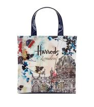 Harrods(ハロッズ) トートバッグ ハロッズ Harrods ★ Watercolour 水彩画 トート ★ S size