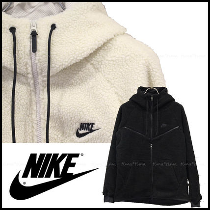 Nike パーカー・フーディ 【完売必至】NIKE TECH WINDRUNNER ICON SHRPA HOODIE 男女OK!(14)