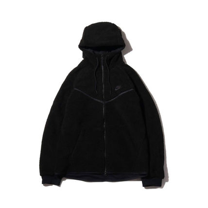 Nike パーカー・フーディ 【完売必至】NIKE TECH WINDRUNNER ICON SHRPA HOODIE 男女OK!(9)