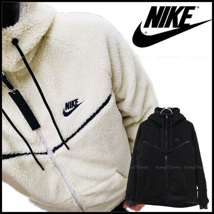 Nike パーカー・フーディ 【完売必至】NIKE TECH WINDRUNNER ICON SHRPA HOODIE 男女OK!