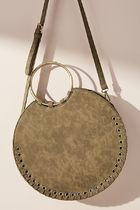 Anthropologie☆Marla Stitched Circle Bag