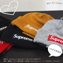 Supreme New Era Box Logo Beanie 2018FW
