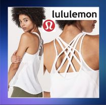 lululemon★メッシュパネルRun Off-Route Tank/White