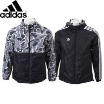 ☆国内正規品☆ADIDAS GRAPHICS REVERSIBLE WINDBREAKER BLK