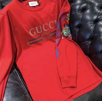 GUCCI VINTAGE LOGO DRAGON LONG SLEEVE T-SHIRT Tシャツ ロゴ
