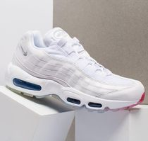 NIKE AIRMAX 95-White/Silver/Photo Blue