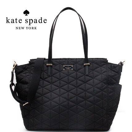 kate spade new york マザーズバッグ 国内発 ケイトスペード マザーズ バッグ Quilted Kaylie BabyBag