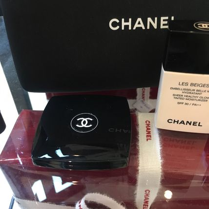 CHANEL メイクアップその他 【CHANELコフレ】ポーチ&手鏡付き♡6点セット国内発送(2)
