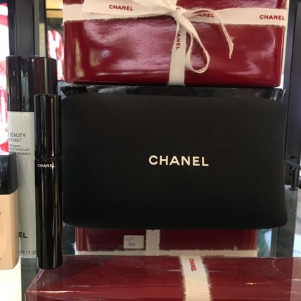 CHANEL メイクアップその他 【CHANELコフレ】ポーチ&手鏡付き♡6点セット国内発送(3)
