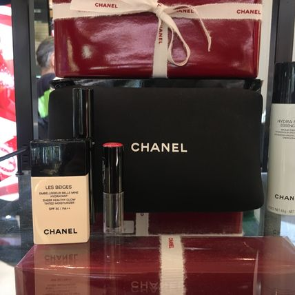 CHANEL メイクアップその他 【CHANELコフレ】ポーチ&手鏡付き♡6点セット国内発送(5)