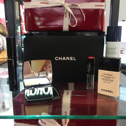 【CHANELコフレ】ポーチ&手鏡付き♡6点セット国内発送