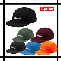 【国内発送】 Supreme Wool Camp Cap ロゴ