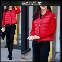 【MONCLER】18AW ウールMIXジップアップブルゾン RED/EMS