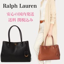 *国内発送* レザートート Ralph Lauren Leather Market Tote