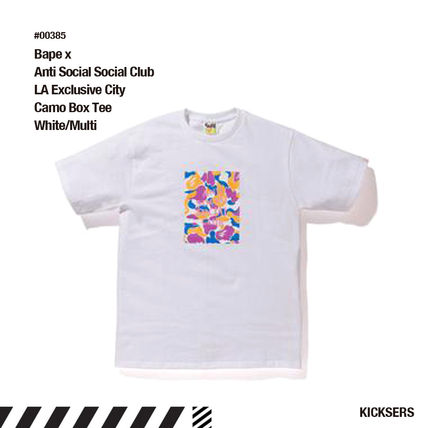 e9fb59893f84 ANTI SOCIAL SOCIAL CLUB Tシャツ・カットソー 人気!Bape x Anti Social Social Club