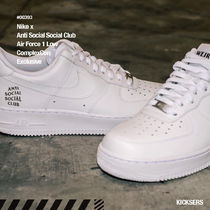 人気!Nike x Anti Social Social Club Air Force 1 ComplexCon