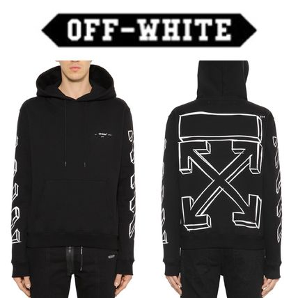 《送料込》Off-White☆MARKER ARROWS フーディ