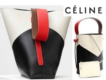 CELINE★Twisted cabas small 【謝恩品☆EMS関税無】