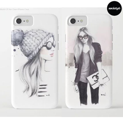 iPhone・スマホケース 【国内発送】iPhone/Galaxy ケース *She Had A World Of Her Own