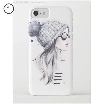 iPhone・スマホケース 【国内発送】iPhone/Galaxy ケース *She Had A World Of Her Own(2)