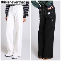 新作★thisisneverthat★f Work Pant 2色
