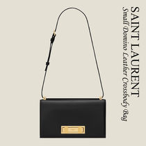 Saint Laurent DOMINO SMALL IN SMOOTH LEATHER