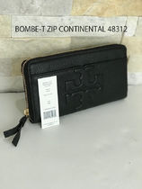 追跡有+激安 TORY BURCH★BOMBE-T ZIP CONTINENTAL 48312