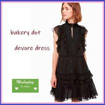 【kate spade】日本未入荷★可憐♪ bakery dot devore dress ★