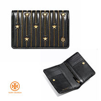 国内発送【TORY BURCH】Star Stud ☆ Medium wallet お財布