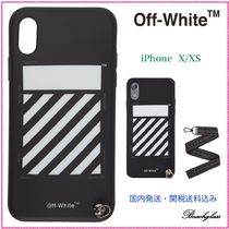 Off-White ☆ Diagonal Logo iPhone ケース