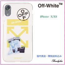 Off-White ☆ グラフィック Arrow Logo iPhone ケース