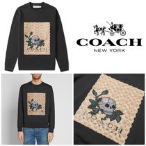 新作★Coach Signature Tattoo Skull Sweat★コーチ スウェット