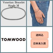 ■日本未入荷・送料込■ Tom Wood Venetian Bracelet Single M
