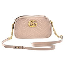 GUCCI    GG MARMONT  ショルダーバッグ PORCELAIN ROSE