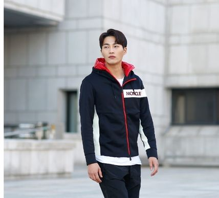 MONCLER パーカー・フーディ 【MONCLER】18AW異素材MIXダブルフードジップアップパーカー/EMS(8)