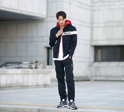 MONCLER パーカー・フーディ 【MONCLER】18AW異素材MIXダブルフードジップアップパーカー/EMS(9)