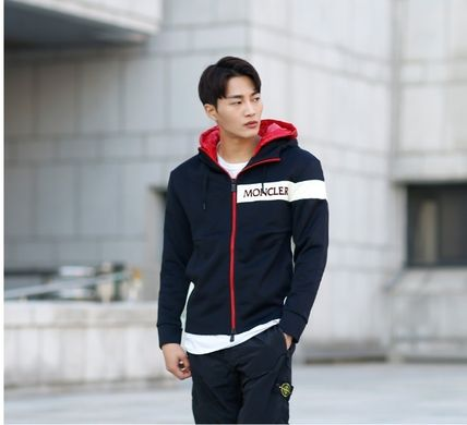 MONCLER パーカー・フーディ 【MONCLER】18AW異素材MIXダブルフードジップアップパーカー/EMS(11)