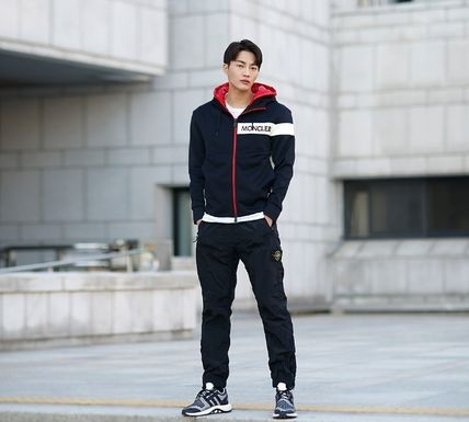 MONCLER パーカー・フーディ 【MONCLER】18AW異素材MIXダブルフードジップアップパーカー/EMS(12)