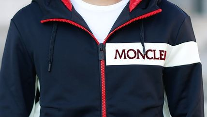 MONCLER パーカー・フーディ 【MONCLER】18AW異素材MIXダブルフードジップアップパーカー/EMS(14)
