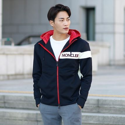MONCLER パーカー・フーディ 【MONCLER】18AW異素材MIXダブルフードジップアップパーカー/EMS(20)