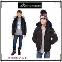 MOOSE KNUCKLES(ムースナックル) キッズアウター 18-19AW【MOOSE KNUCKLES】BOYS BOMBER/COLOURFUL FUR★関送込