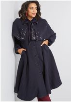 innate sophistication coat with cape