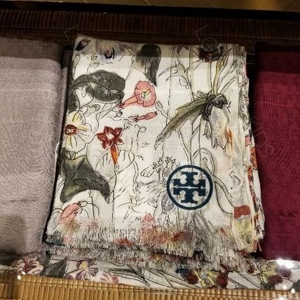 2018AW♪ Tory Burch ★ MELODY FLORAL OBLONG SCARF