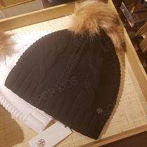 2018AW♪ Tory Burch ★ LARGE CABLE KNIT POM HAT