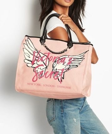 Victoria's Secret マザーズバッグ Victoria's Secret☆Angel City Tote トートバッグ 8色 国内発送(3)