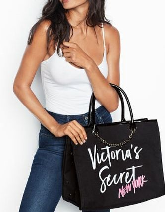Victoria's Secret マザーズバッグ Victoria's Secret☆Angel City Tote トートバッグ 8色 国内発送(5)