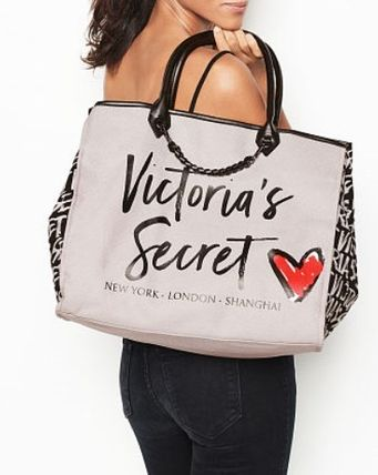Victoria's Secret マザーズバッグ Victoria's Secret☆Angel City Tote トートバッグ 8色 国内発送(9)